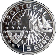 5 Euro (Isabel of Portugal) – obverse