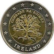 2 (Ireland Euro Fantasy Token) – obverse