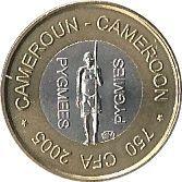 750 Francs CFA – obverse