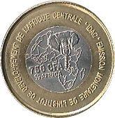 750 Francs CFA – reverse