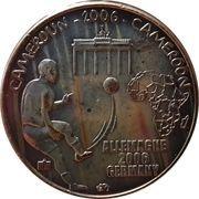 1500 Francs CFA / 1 Africa – obverse