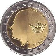 2 E (Sweden Euro Fantasy Token) – obverse