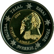 2 Euro (Sweden Euro Fantasy Token) – obverse