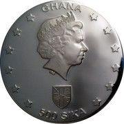 500 Sika - Elizabeth II (Egyptian Navigators) – obverse