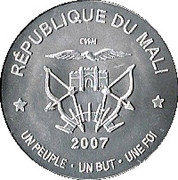 2500 Francs (Abolition of Slavery) – obverse