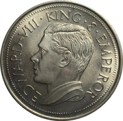 Crown - Edward VIII – obverse