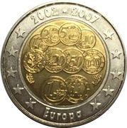 2 Euro (Europe Euro Fantasy Token) – obverse