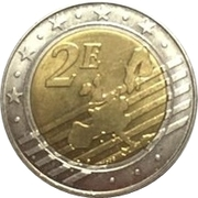 2 Euro (Europe Euro Fantasy Token) – reverse