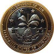 1 Dollar (President Van Buren) – obverse