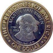 1 Dollar (President Van Buren) – reverse