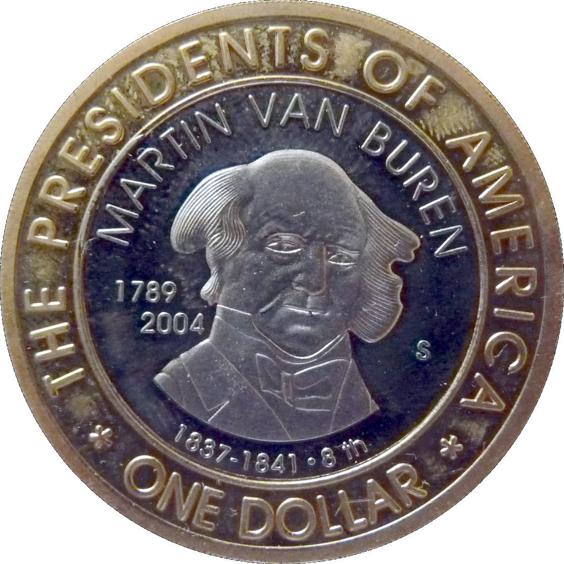 martin van buren 1 coin value