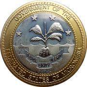 1 Dollar (President Henry) – obverse