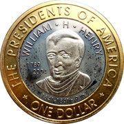 1 Dollar (President Henry) – reverse