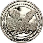 Quarter Dollar (Crazy Horse) – obverse