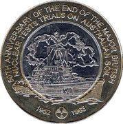 5 Dollars - Montebello Island -  reverse