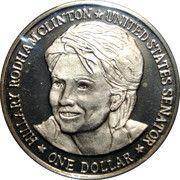 1 Dollar (Hillary Rodham Clinton) – reverse