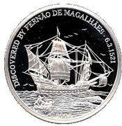 5 Dollars (Fernando Magellan) – reverse