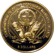 5 Dollars (Horst Köhler) – obverse