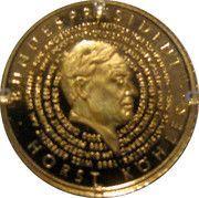 5 Dollars (Horst Köhler) – reverse