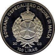 100 Liras (Euro 2008 Football Championship) – obverse