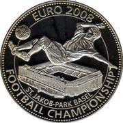 100 Liras (Euro 2008 Football Championship) – reverse