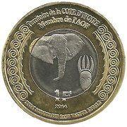 1 Franc (Cote D'ivoire) – obverse