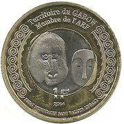 1 Franc (Gabon) – obverse