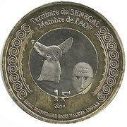 1 Franc (Senegal) – obverse