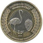 1 Franc (Tchad) – obverse