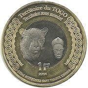 1 Franc (Togo) – obverse