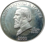 5 Dollars (Rutherford B. Hayes) – reverse