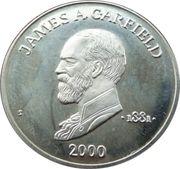 5 Dollars (James A. Garfield) – reverse