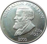 5 Dollars (Benjamin Harrison) – reverse