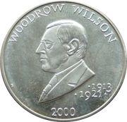 5 Dollars (Woodrow Wilson) – reverse