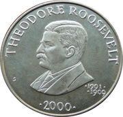 5 Dollars (Theodore Roosevelt) – reverse