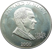 5 Dollars (Richard M. Nixon) – reverse