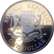 One Dollar (Athens Olympics) – reverse