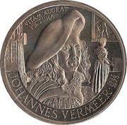 10 ECU - Beatrix Beatrix (Johannes Vermeer -1632/1675-) -  reverse