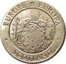 1 ECU - Elizabeth II – obverse