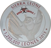 1 250 000 Leones (Stop Ebola) – obverse