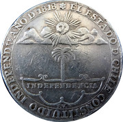 (6 Reales) Independence Proclamation Medal – obverse