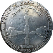 (6 Reales) Independence Proclamation Medal – reverse