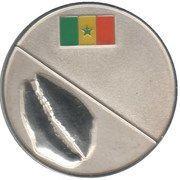½ Cauri (Royaume de Kabrousse) – reverse