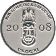 1 Cauri (Royaume de Kabrousse) – obverse