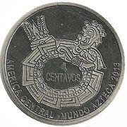 4 Centavos – reverse