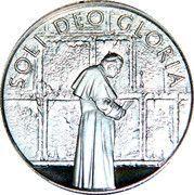 10 Liras (Life Of Pope John Paul II - Prayer At The Wailing Wall) – reverse