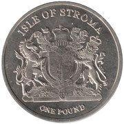 1 Pound (Scottish Fold) – obverse
