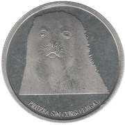 10 Pesos antárticos – reverse