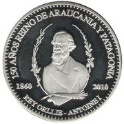 500 Pesos - Orllie Antoine I – obverse