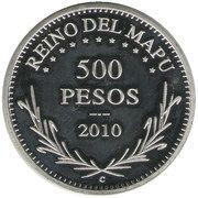 500 Pesos - Orllie Antoine I – reverse